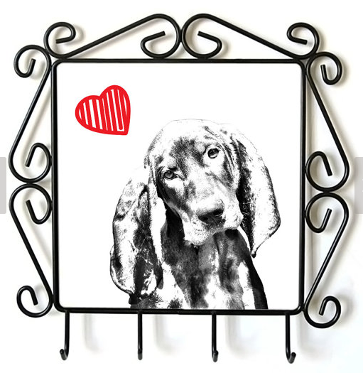 Black & Tan Coonhound Lead Hanger