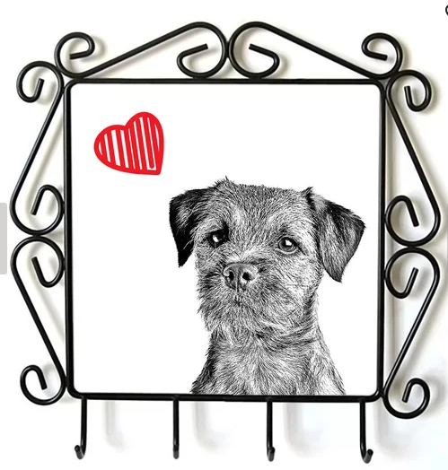 Border Terrier Lead Hanger