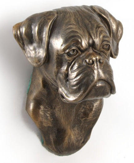 Boxer Wall Hung Statue