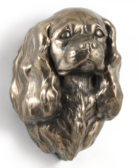 Cavalier King Charles Wall Hung Statue