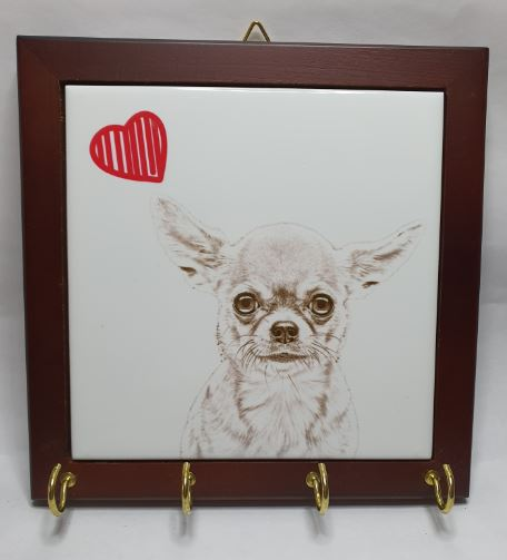 Chihuahua Smooth Coat Lead Hanger