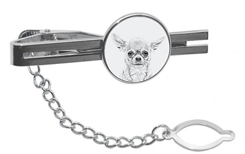 Chihuahua Smooth Coat Tie Pin