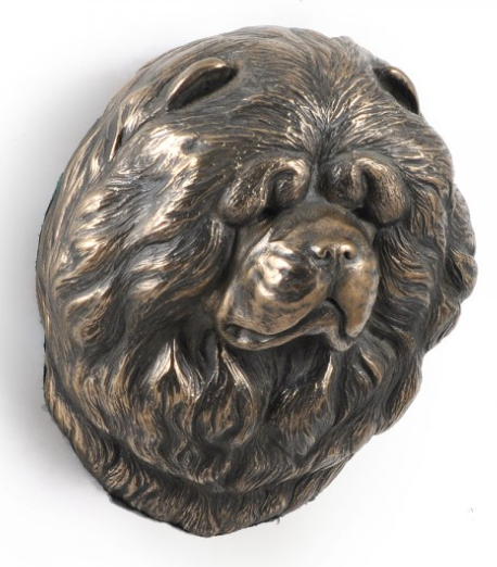 Chow Chow Wall Hung Statue