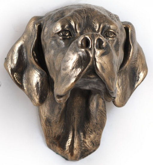 English Pointer Wall HUng Statue