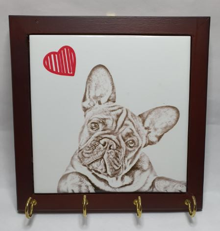 French Bulldog Lead Hanger
