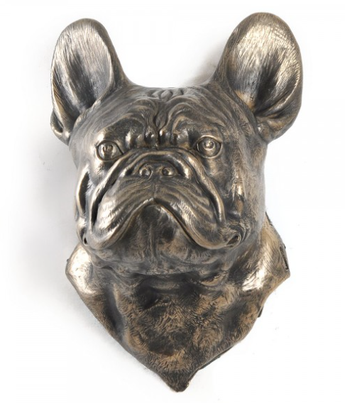 French Bulldog Wall Hung Statue