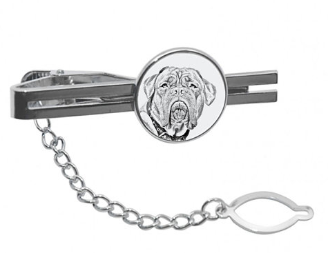 French Mastiff / Dog De Bordeaux Tie Clip