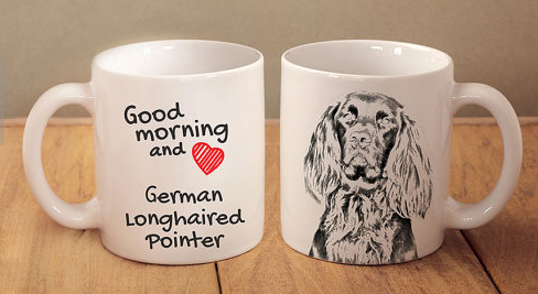 German Longhaired Pointer Coffee Mug