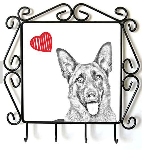 German Shepherd Lead Hanger