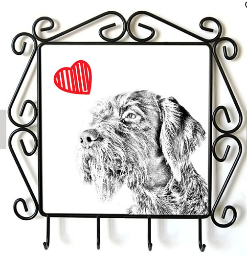 German Wirehaired Pointer Lead Hanger