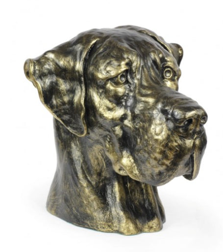 Great Dane Life Size Head Statue