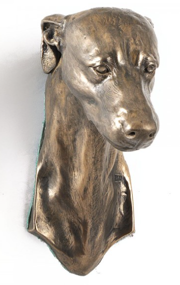 Greyhound Wall Hung Statue