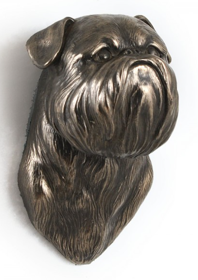 Brussels Griffon Wall Hung Statue