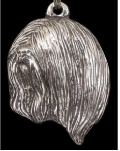 Lhasa Apso Silver Plated Pendant