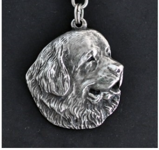 Newfoundland Silver Plated Pendant