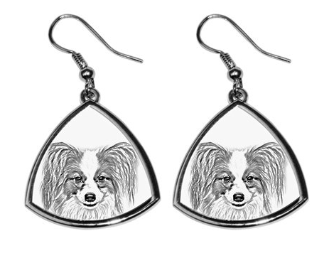 Papillon Silver Plated Earrings