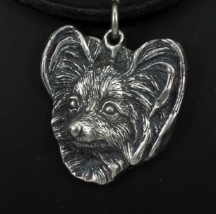 Papillon Silver Plated Pendant