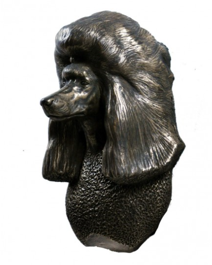 Poodle Wall Hung Statue