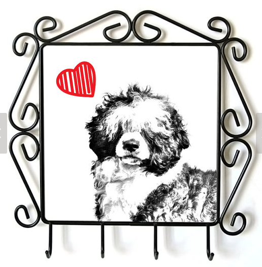 Portuguese Water Dog Lead Hanger