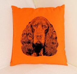 Setter Pillow Orange