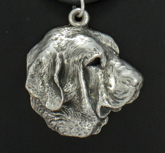 Spanish Mastiff Silver Plated Pendant