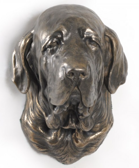 Spanish Mastiff Wall HUng Statue