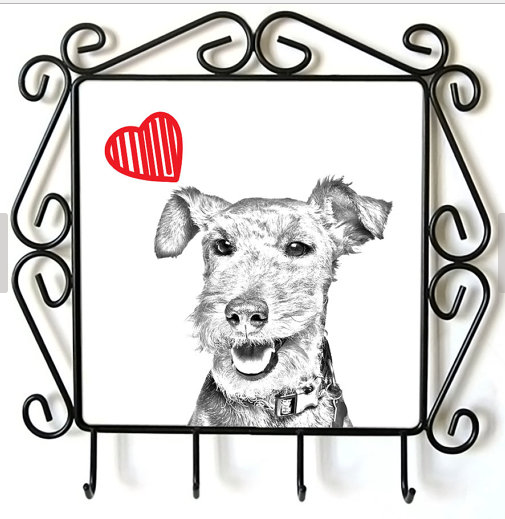 Welsh Terrier Lead Hanger