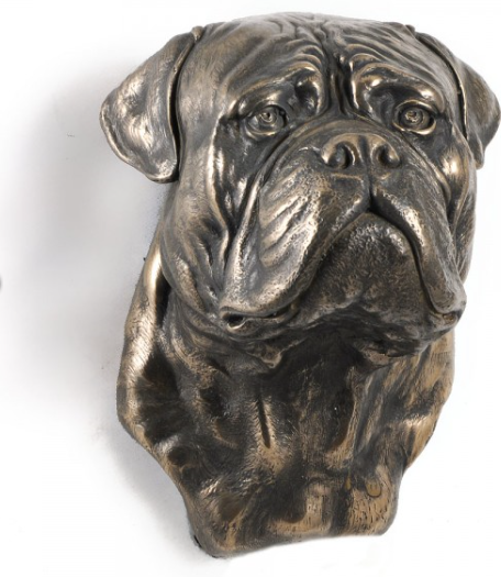 Bullmastiff Wall Hung Statue
