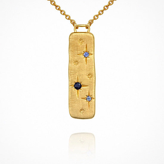 Temple of the Sun Elektra Necklace Gold