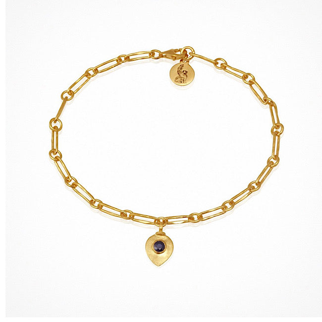 Temple of the Suns Myra Bracelet Gold