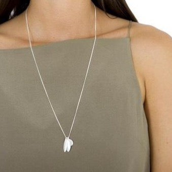Fairley - Alexa Trilogy Charm Necklace - Silver - Studio Matakana