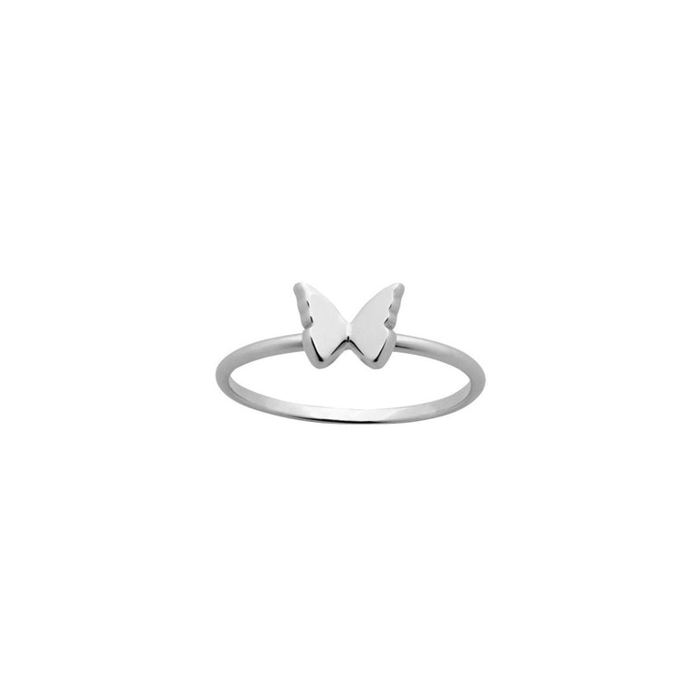 Karen Walker - Butterfly Ring - Silver - Studio Matakana