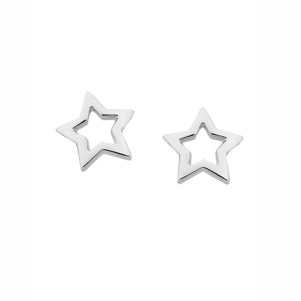 Karen Walker - Mini Star Studs - Silver - Studio Matakana
