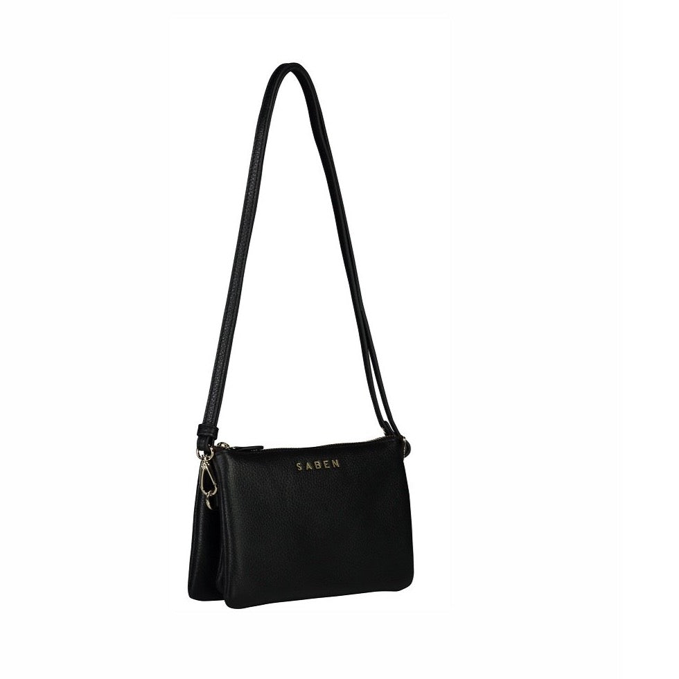 Saben - Tilly Cross Body - Black - Studio Matakana