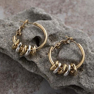 Danon The five rings earrings