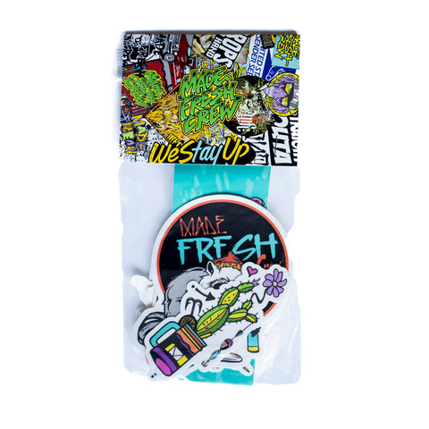 Made Fresh Crew Variety Sticker Pack II