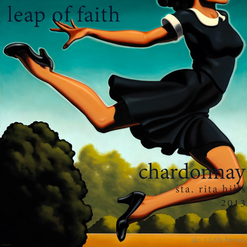 2014 Estate Chardonnay ~ Leap of Faith. ***Sold Out***