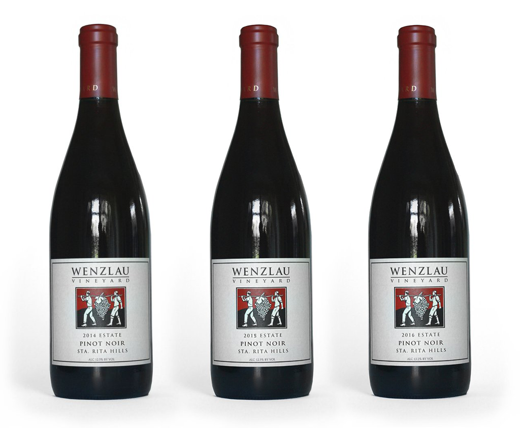 Estate Pinot Noir Vertical Gift Box 2014, 2015 & 2016