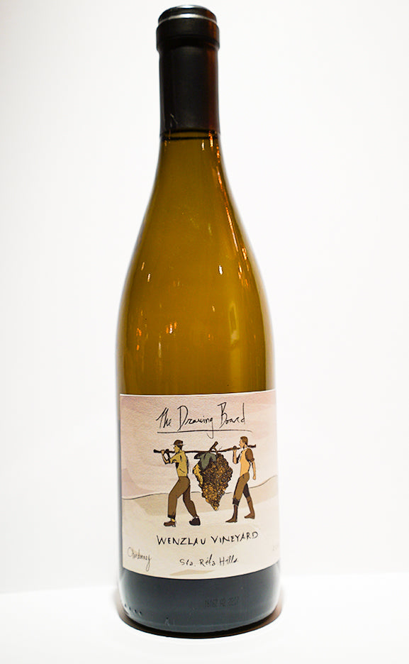 2015 The Drawing Board Estate Chardonnay $32/bottle ~ Sold in increments of 3