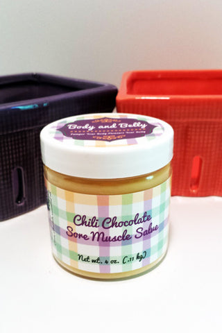 Chili Chocolate Sore Muscle Salve