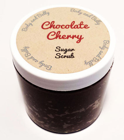 Chocolate Cherry Sugar Scrub