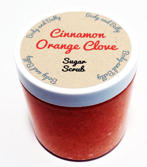 Cinnamon Orange Clove Sugar Scrub