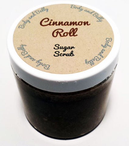 Cinnamon Roll Sugar Scrub