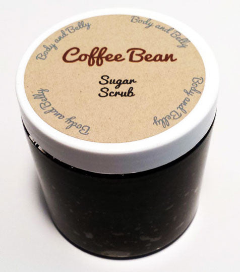 Coffee Bean Sugar Scrub