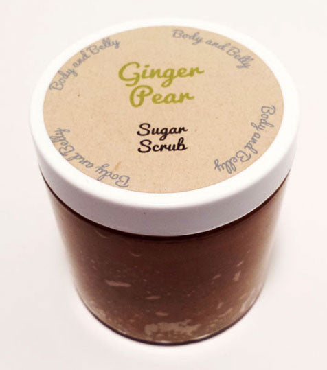 Ginger Pear Sugar Scrub