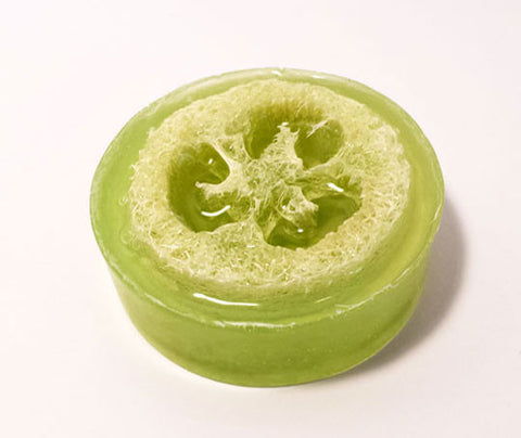 Ginger Pear Loofah Soap