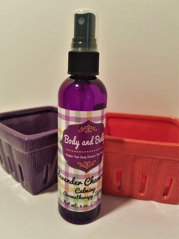"Lavender Chamomile ""Calming"" Aromatherapy Spray"