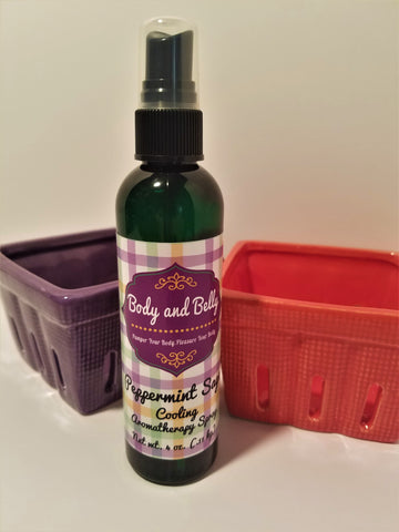 "Peppermint Sage ""Cooling"" Aromatherapy Spray"