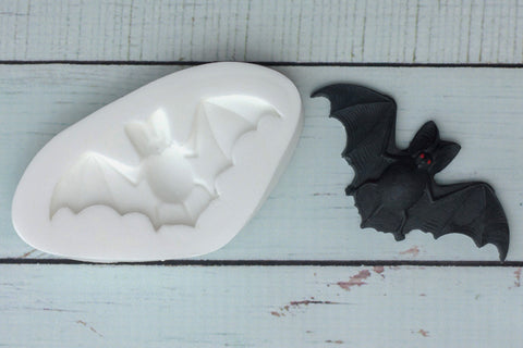 Halloween Fat Bellied Bat Silicone Mould - ellamsugarcraft - 1