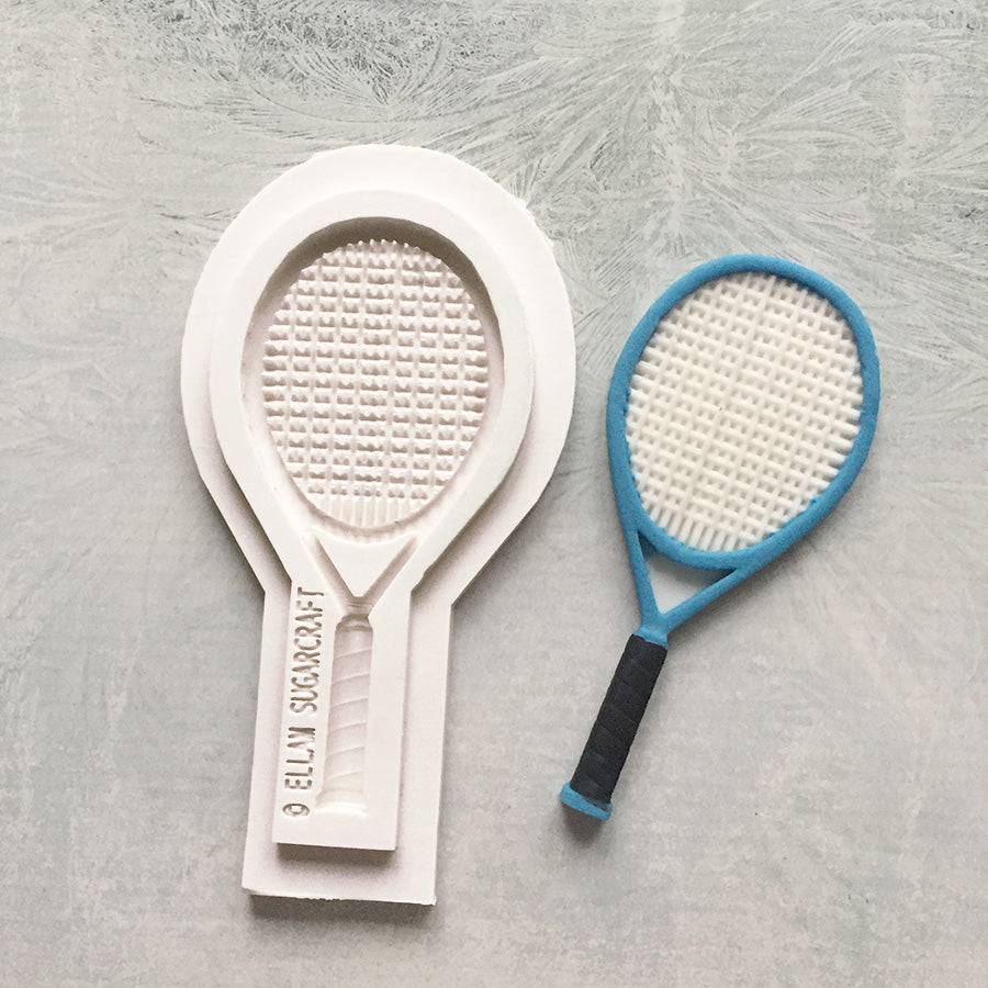 "4"" Large Tennis Racquet Silicone Mould"